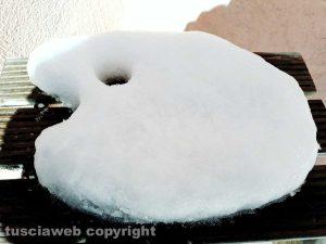 Viterbo - Una tavolozza di neve
