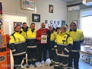 La protezione civile di Viterbo ad Amatrice