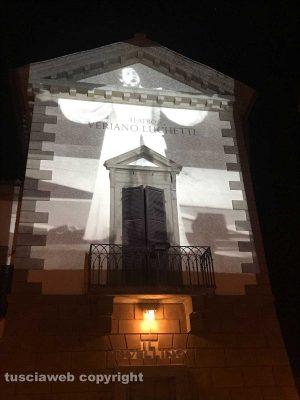 Tuscania - Il teatro Rivellino dedicato a al tenore Veriano Luchetti