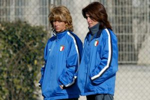 Sport - Calcio - Betty Bavagmoli e Carolina Morace