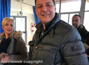 Elezioni - Tobia - Giulio Marini in fila