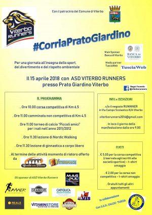 Viterbo Runners - Corri a pratogiardino Lucio Battisti