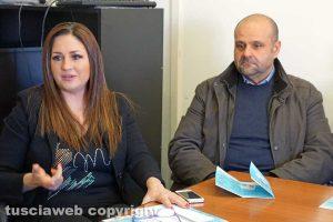 Viterbo - Franca Sassara e Luigi Mechelli