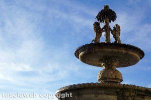 Viterbo - Il cortile di Palazzo dei Priori