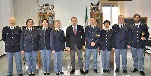 Otto vicecommissari alla questura di Viterbo