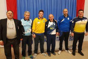 Sport - Bocce - La premiazione del trofeo Veteres
