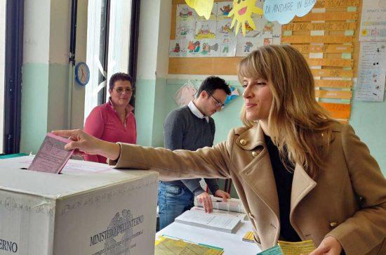 Viterbo - Politiche e regionali 2018 - Elisa Galeani al voto