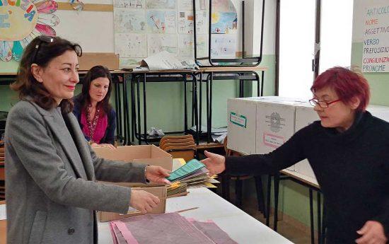 Viterbo - Politiche e regionali 2018 - Silvia Blasi al voto