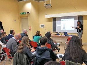 Viterbo - La lezione di Cristina Scarpazza