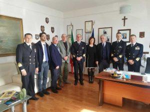 Civitavecchia - L'incontro dei procuratori con la guardia costiera
