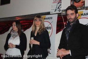 Movimento 5 stelle - Simona Sassara, Elisa Galeani e Matteo Simoncini