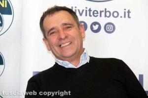Viterbo - La conferenza stampa di Fratelli d'Italia - Massimo Ceccarelli