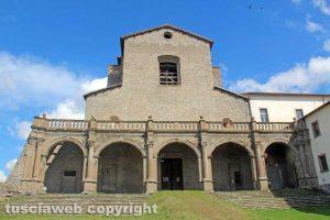 Viterbo - Unitus - Santa Maria in gradi - La basilica