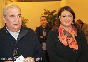 Giuseppe Fioroni e Luisa Ciambella