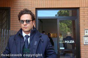 Viterbo - L'avvocato Emanuele Barbacci