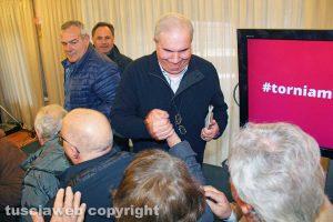 Giuseppe Fioroni all'incontro dopo il voto del 4 marzo