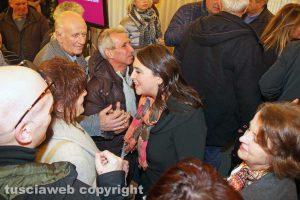 Luisa Ciambella all'incontro dopo il voto del 4 marzo