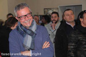 Viterbo - Daniele Sabatini ringrazia gli elettori - Mario Lega