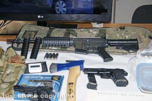 Viterbo - Polizia - L'arresto di Denis Illarionov - Le armi, gli ordigni e l'esplosivo sequestrati