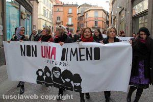 Viterbo - 8 marzo - Manifestazione Non una di meno