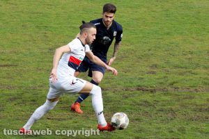 Sport - Calcio - Viterbese - Luca Baldassin pressa Domenico Mungo