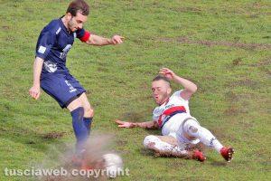 Sport - Calcio - Viterbese - Daniele Celiento nel match di andata