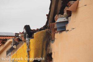 Montalto di Castro - L'appartamento distrutto a Torre di Maremma