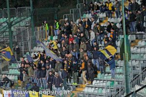 Sport - Calcio - Viterbese - I tifosi gialloblù al Franchi