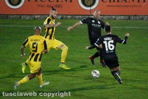 Sport - Calcio - Viterbese - Elio Calderini e Claudio De Sousa