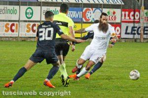 Sport - Calcio - Viterbese - Nicola Mosti pressa Davide Moscardelli
