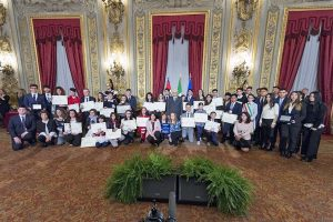 Francesco Barberini alfiere della Repubblica - La premiazione al Quirinale