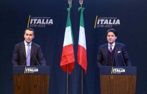 Luigi Di Maio presenta la sua squadra di governo