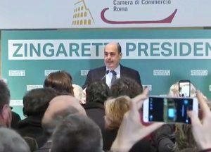 Elezioni regionali 2018 - Il discorso di Nicola Zingaretti