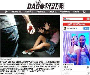 L'articolo di Tusciaweb su Dagospia