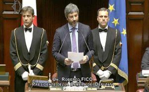 Roberto Fico presidente della camera