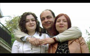 Giallo di Gradoli - Paolo Esposito con, da sinistra, Ala e Tatiana Ceoban