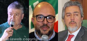 Umberto Fusco, Mauro Rotelli, Francesco Battistoni