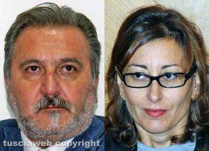 Enrico Panunzi e Silvia Blasi