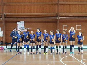 Sport - Pallavolo - Vbc Viterbo - Le ragazze dell'under 14