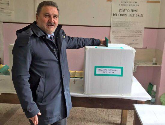 Politiche e regionali 2018 - Enrico Panunzi al voto