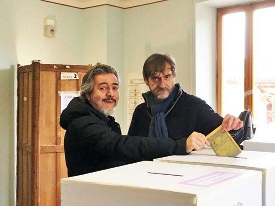 Politiche e regionali 2018 - Francesco Battistoni al voto