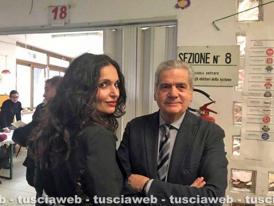 Politiche e regionali 2018 - Francesca e Giovanni Arena al voto