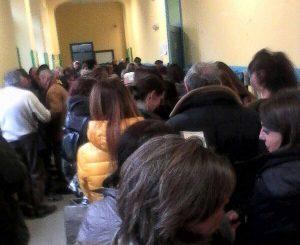 Viterbo - Elezioni - Lunghe file alla Pila