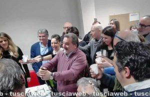 Viterbo - Elezioni regionali - Panunzi festeggia la rielezione