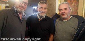 Viterbo - George Clooney al ristorante