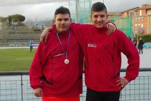 Sport - Atletica leggera - Atletica Vetralla - Luca Pistella e Alessio Norcia