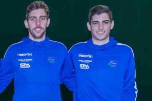 Sport - Tennis club Viterbo - Raffaele Censini e Yuri Guerra