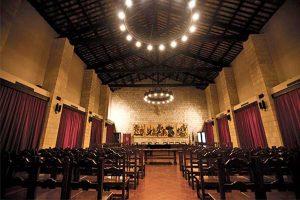 Tarquinia - Palazzo comunale - Sala del consiglio