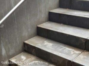Tarquinia - Infiltrazioni d'acqua nel sottopasso