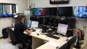 La sala operativa della Securpol group